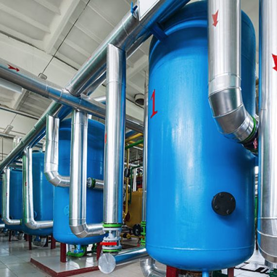 Water Treatment System Boiler